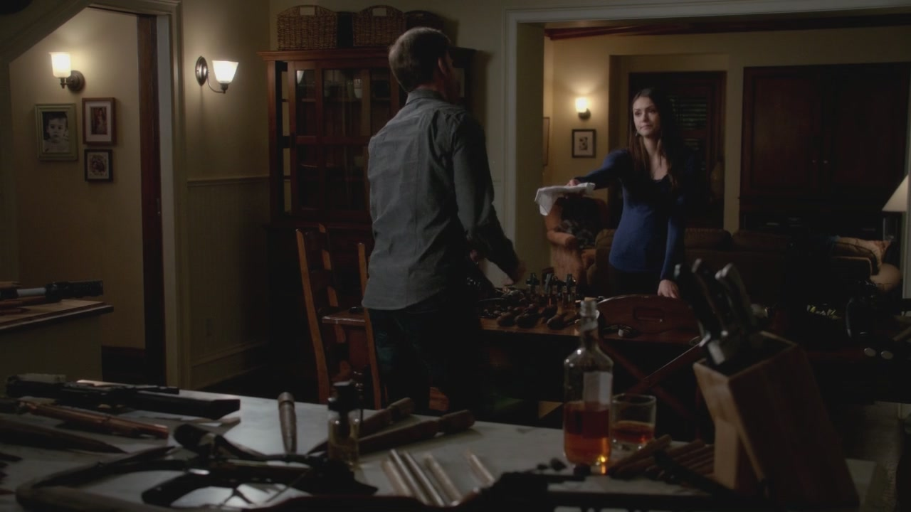 Elena Gilbert Wohnzimmer The Vampire Diaries 3x13 Bringing Out The Dead Hd Screencaps Elena
