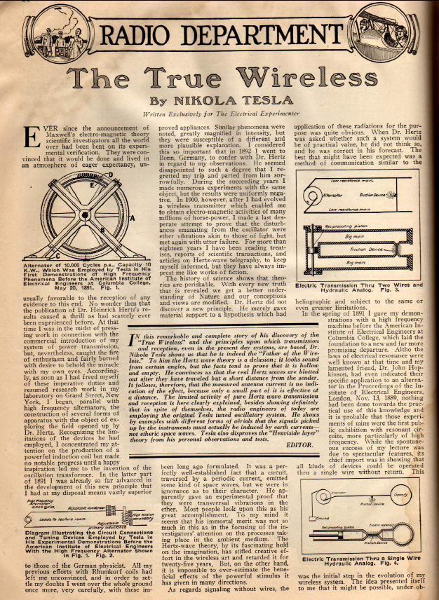 NIKOLA TESLASOURCE THEGLOBALELITETUMBLRCOM - old newspaper template