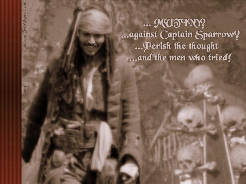 Mutiny - Captain Jack Sparrow Wallpaper (29327484) - Fanpop