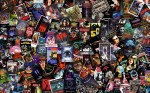 Horror Movie Collage