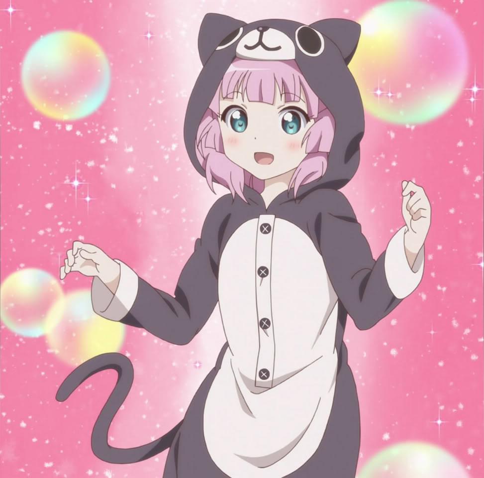 Cute Little Girl Cartoon Wallpaper Chinatsu Yoshikawa Images Kitty Cat Pajama S Hd Wallpaper