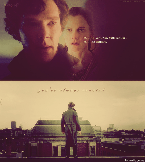 Sherlock Bbc Quotes Wallpaper Sherlock And Molly Images You Ve Always Counted Png