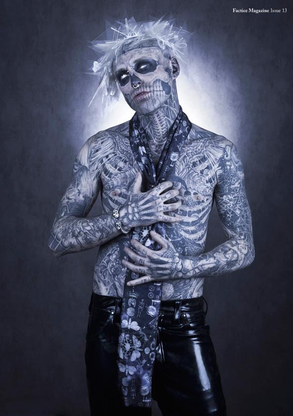 Skullcandy Wallpaper Hd Rick Genest Images Zombie Boy For Factice Magazine 2012 Hd