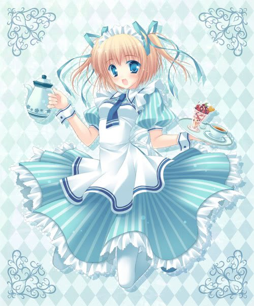 Wallpaper Cute Little Girl Anime Sweets Images Cafe Girl Wallpaper And Background