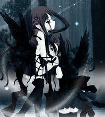 Sad Girl Wallpaper With Quotes Hd Dark Anime Dark Anime Photo 31075326 Fanpop