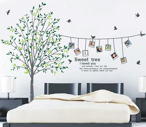 sweet home love photo frame wall sticker home decorating photo wall decoration sticker wall decals wall stickers buy wall stickers