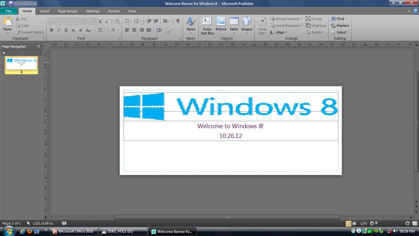 Office Publisher Microsoft Office Images Screenshot For Microsoft Publisher 2010