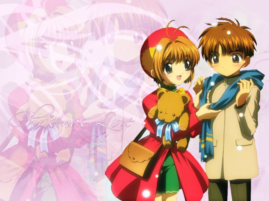 shaosaku hình nền called sakura and syaoran anime