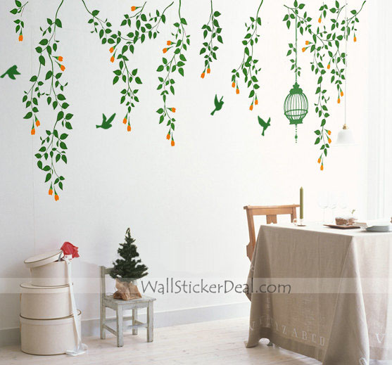 birdcage wall stickers home decorating photo fanpop home sweet home wall sticker decals