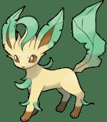 Pokemon Eevee Evolutions Leafeon