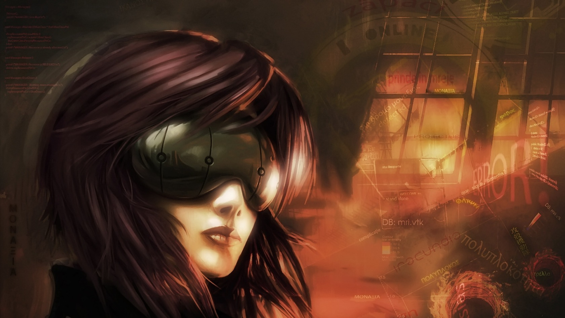 Ghost Girl Horror Wallpaper For Iphone Ghost In The Shell Full Hd Wallpaper And Background Image
