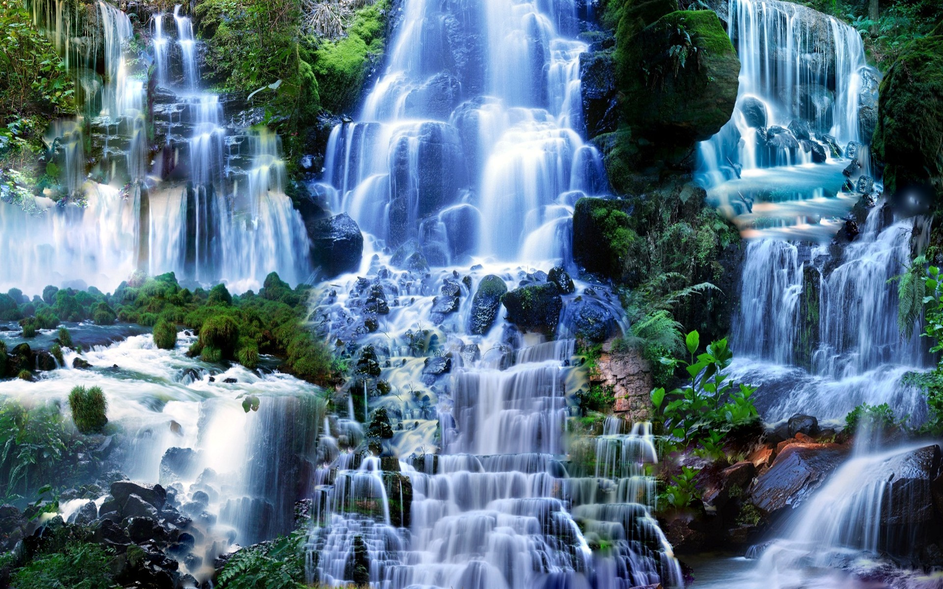 Fall Wallpaper For Large Monitors Waterfall Hd Wallpaper Background Image 1920x1200 Id