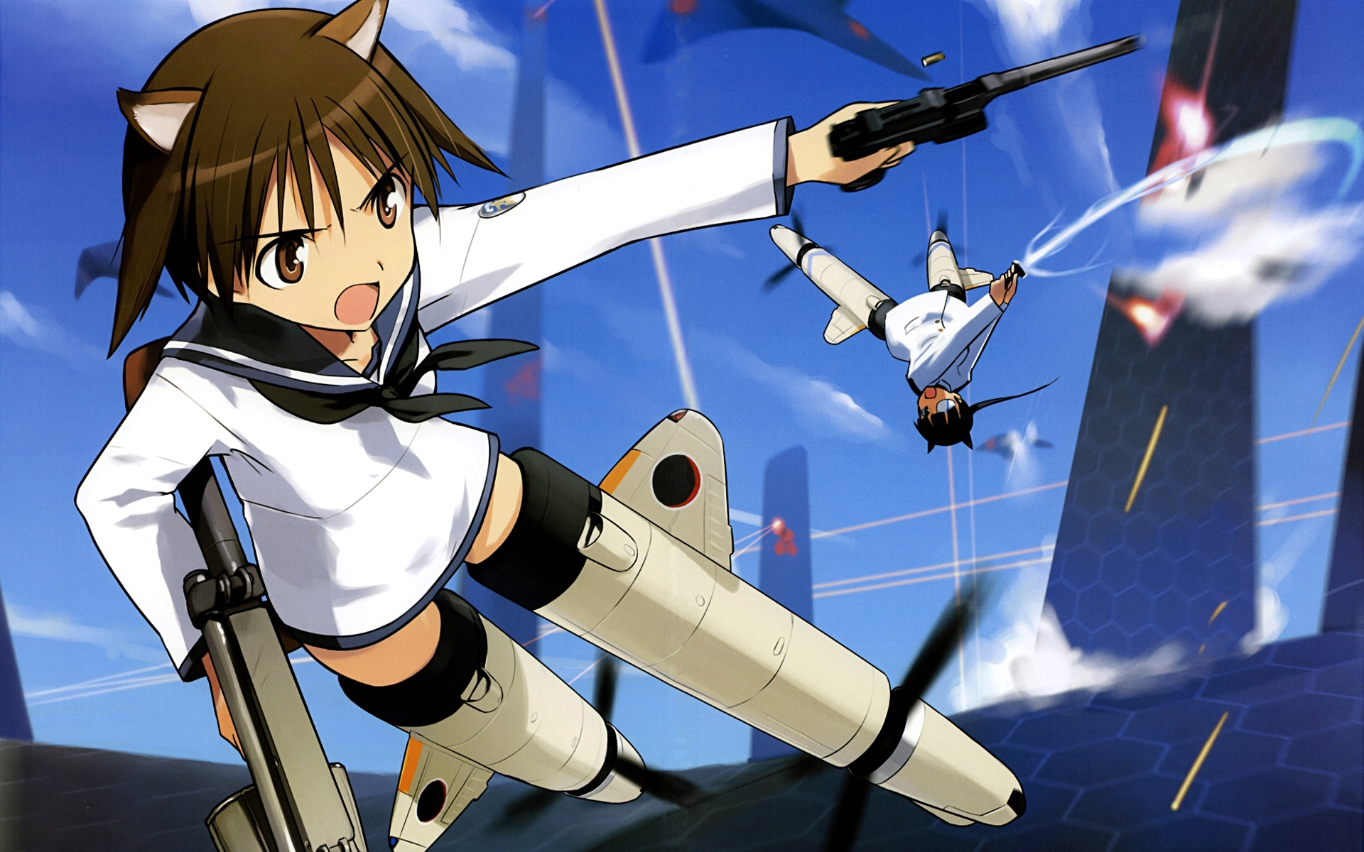 Tank Girl Wallpaper Android Strike Witches The Movie Full Hd Wallpaper And Background