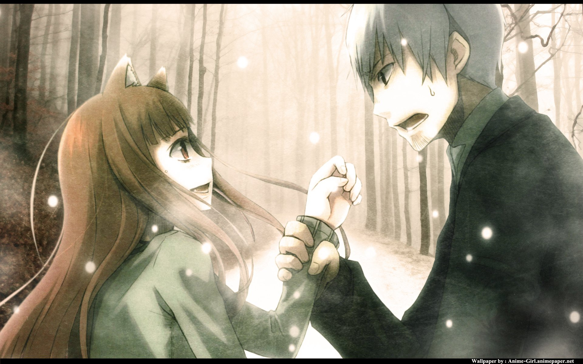 Kiss X Sis Iphone Wallpaper Spice And Wolf Hd Wallpaper Background Image 1920x1200