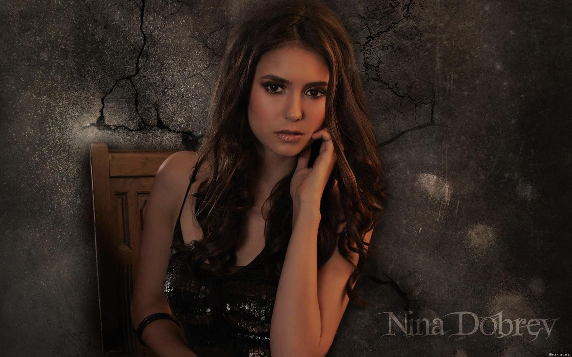 Vampire Diaries Hd Wallpapers 1366x768 Nina Dobrev Hd Wallpaper Background Image 1920x1200
