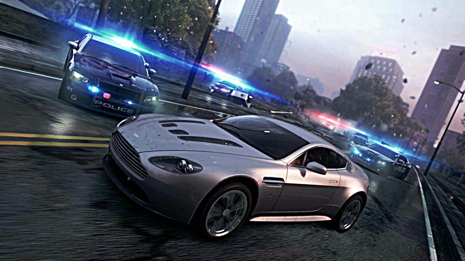Hd Nfs Cars Wallpapers Aston Martin V12 Vantage Wallpaper And Background Image