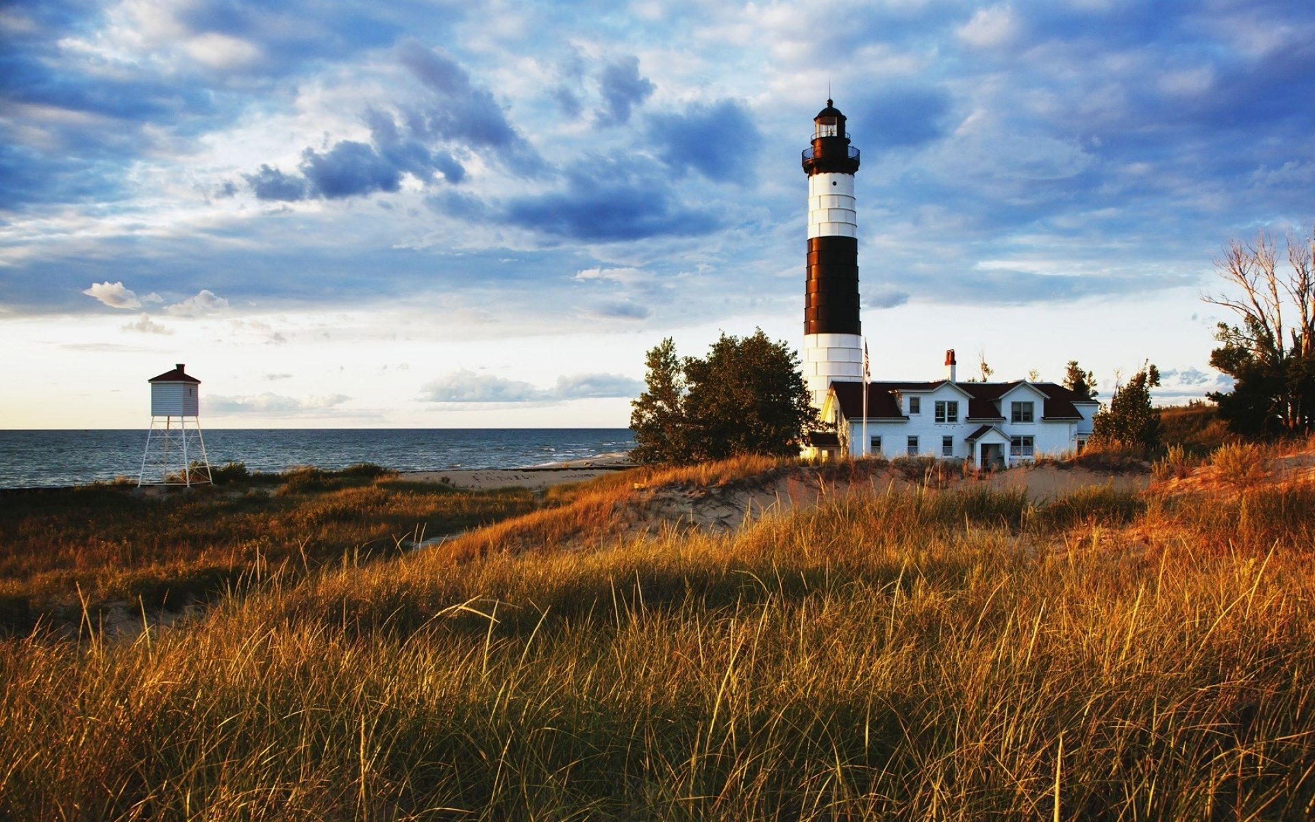Hd Wallpapers For Laptop 15 6 Inch Screen Lighthouse Hd Wallpaper Background Image 1920x1200