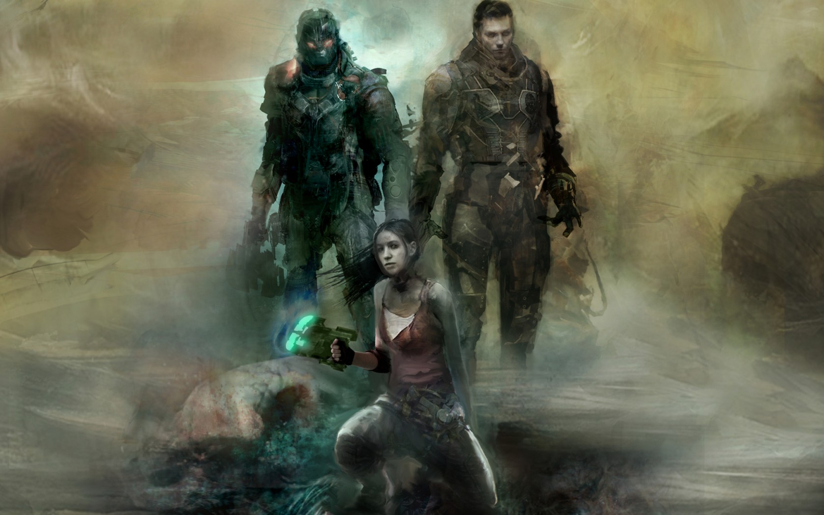Special Forces Iphone Wallpaper Dead Space 3 Wallpaper And Background Image 1680x1050