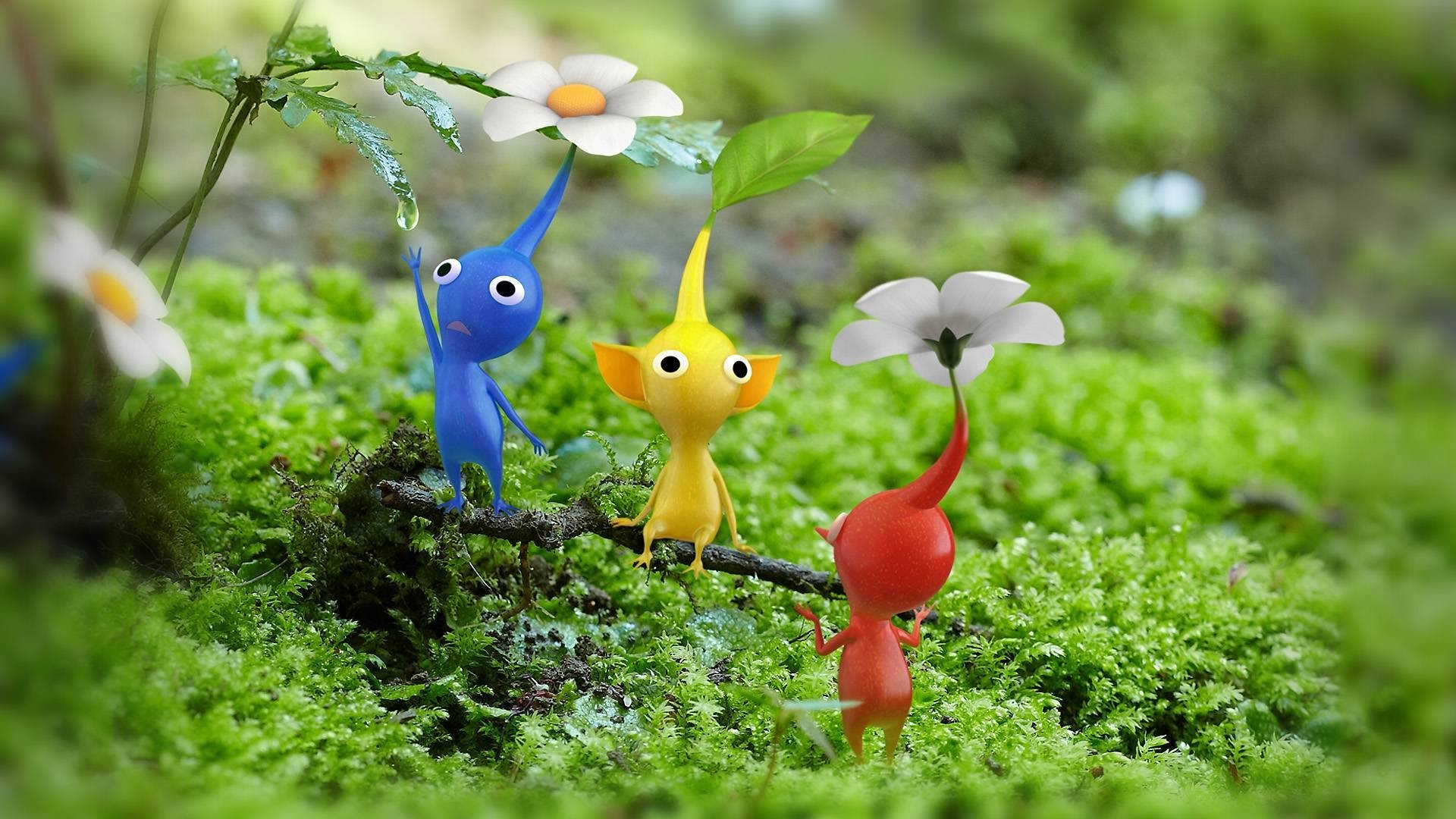 Pikmin 3 Wallpaper Hd Pikmin 3 Full Hd Wallpaper And Background Image