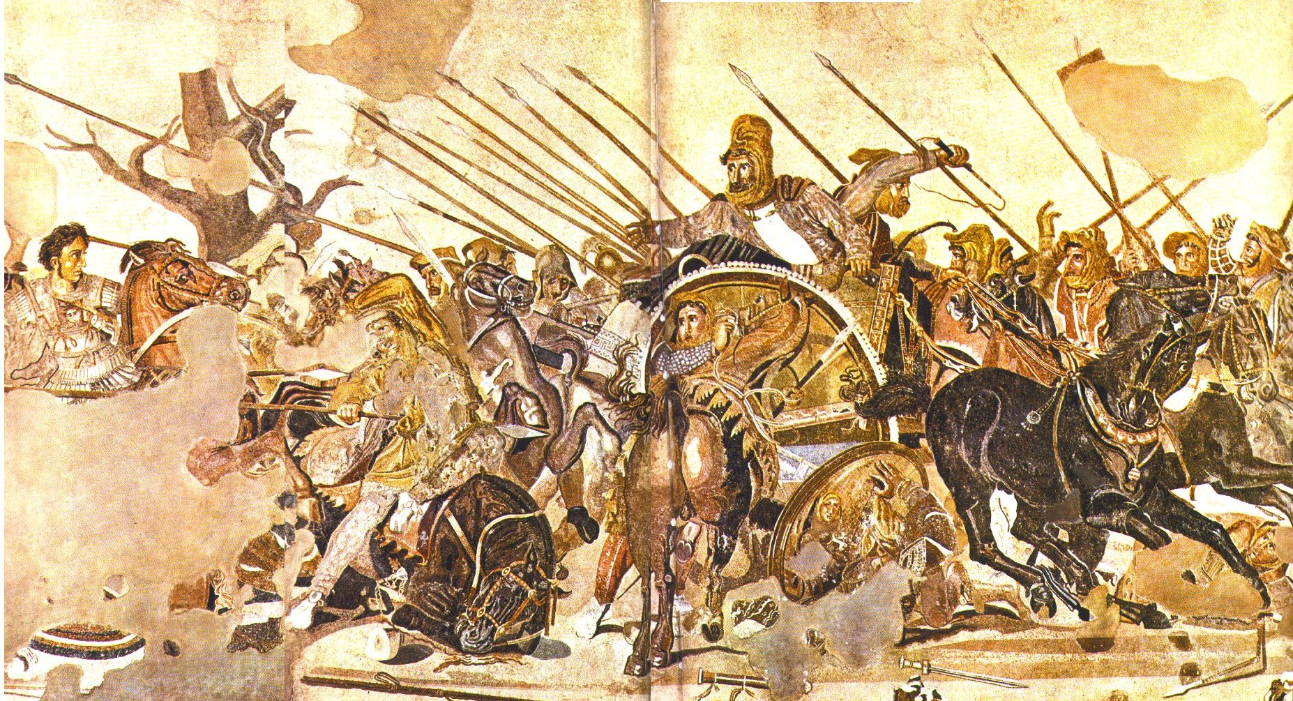Alexandermosaik 1 Battle Of Issus Hd Wallpapers Background Images