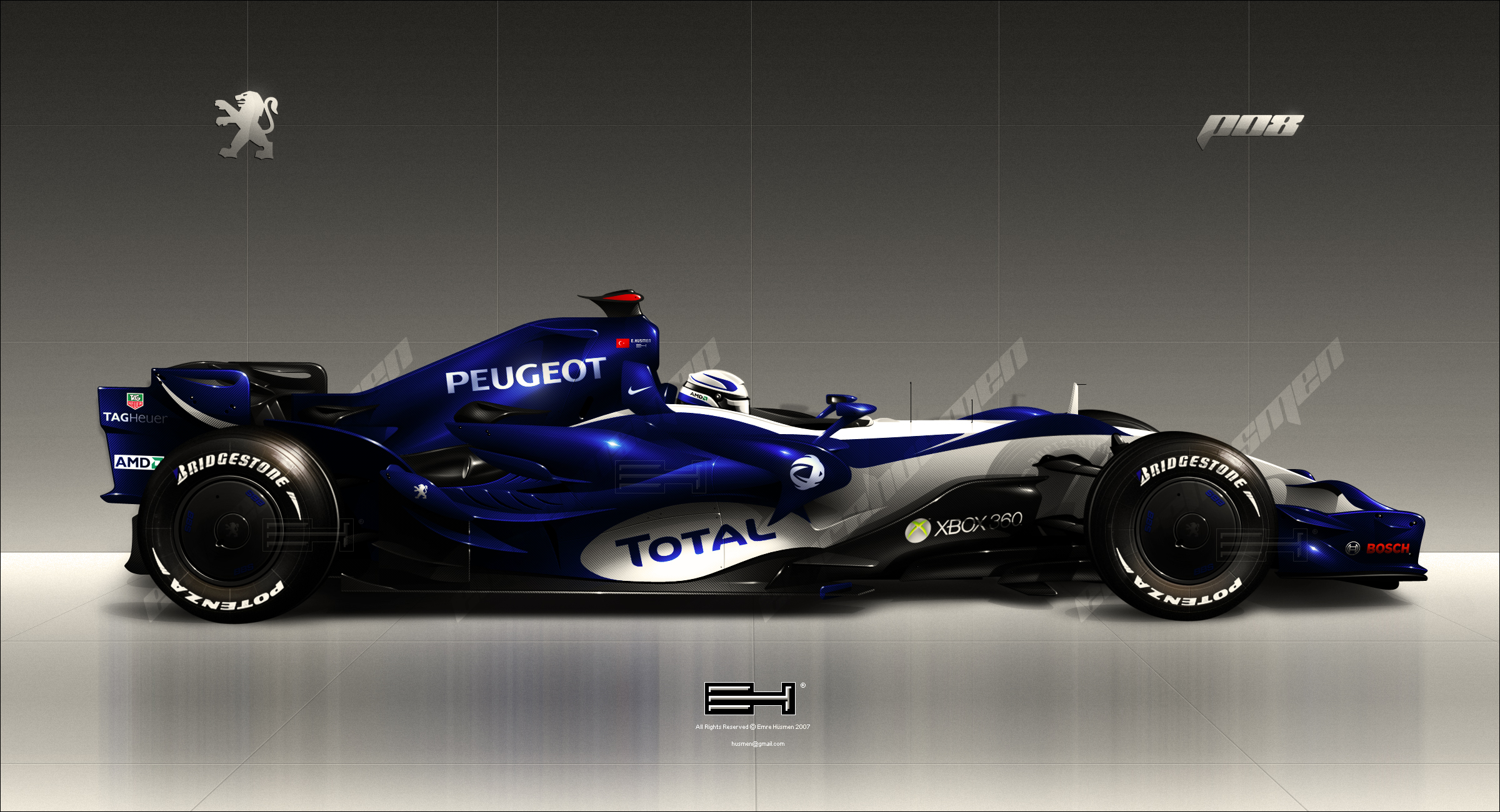 Cool Custom Car Wallpapers 1 Peugeot P08 F1 Hd Wallpapers Background Images