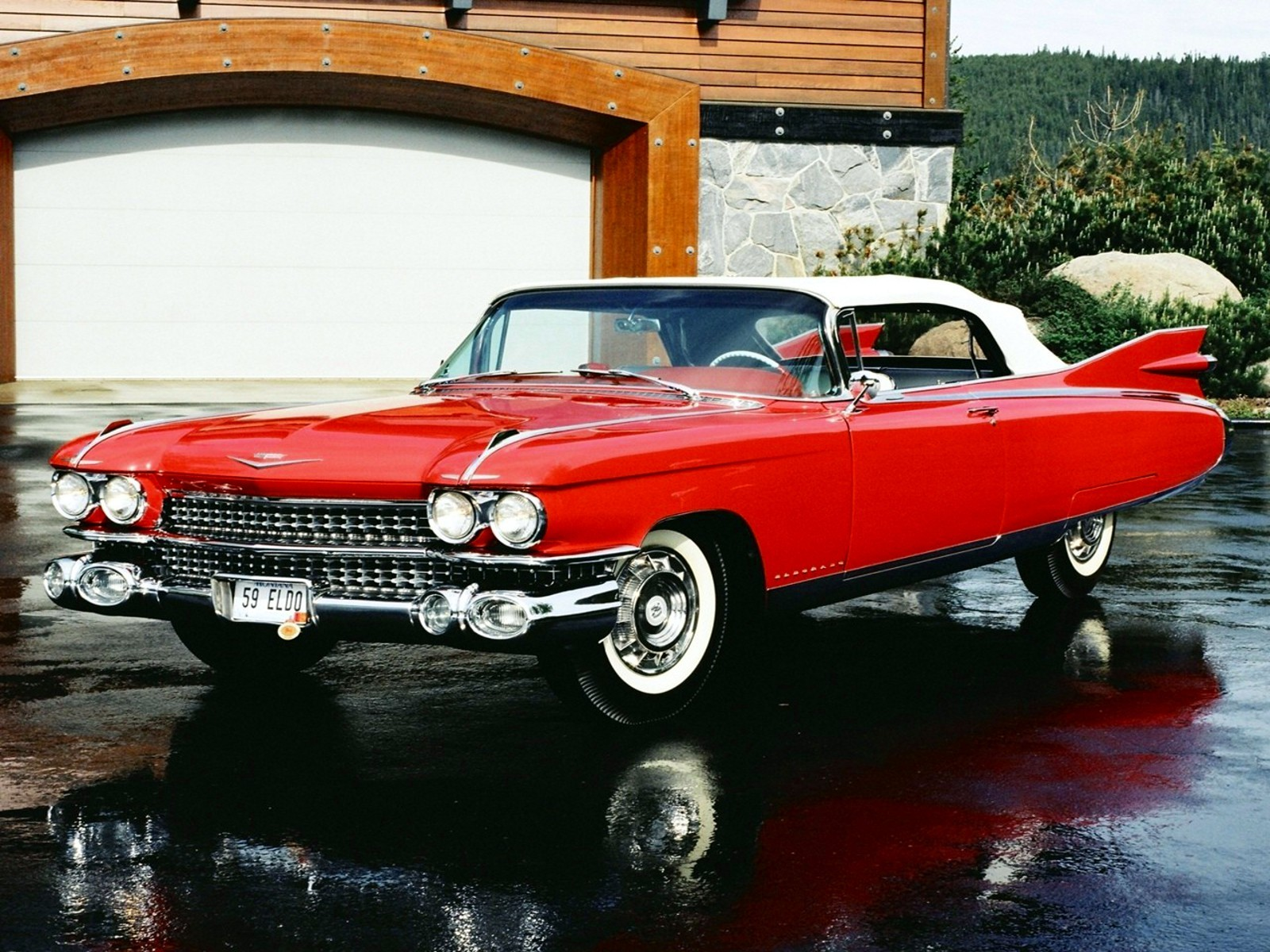 Car Wallpaper Slideshow 1 1959 Cadillac Eldorado Hd Wallpapers Backgrounds