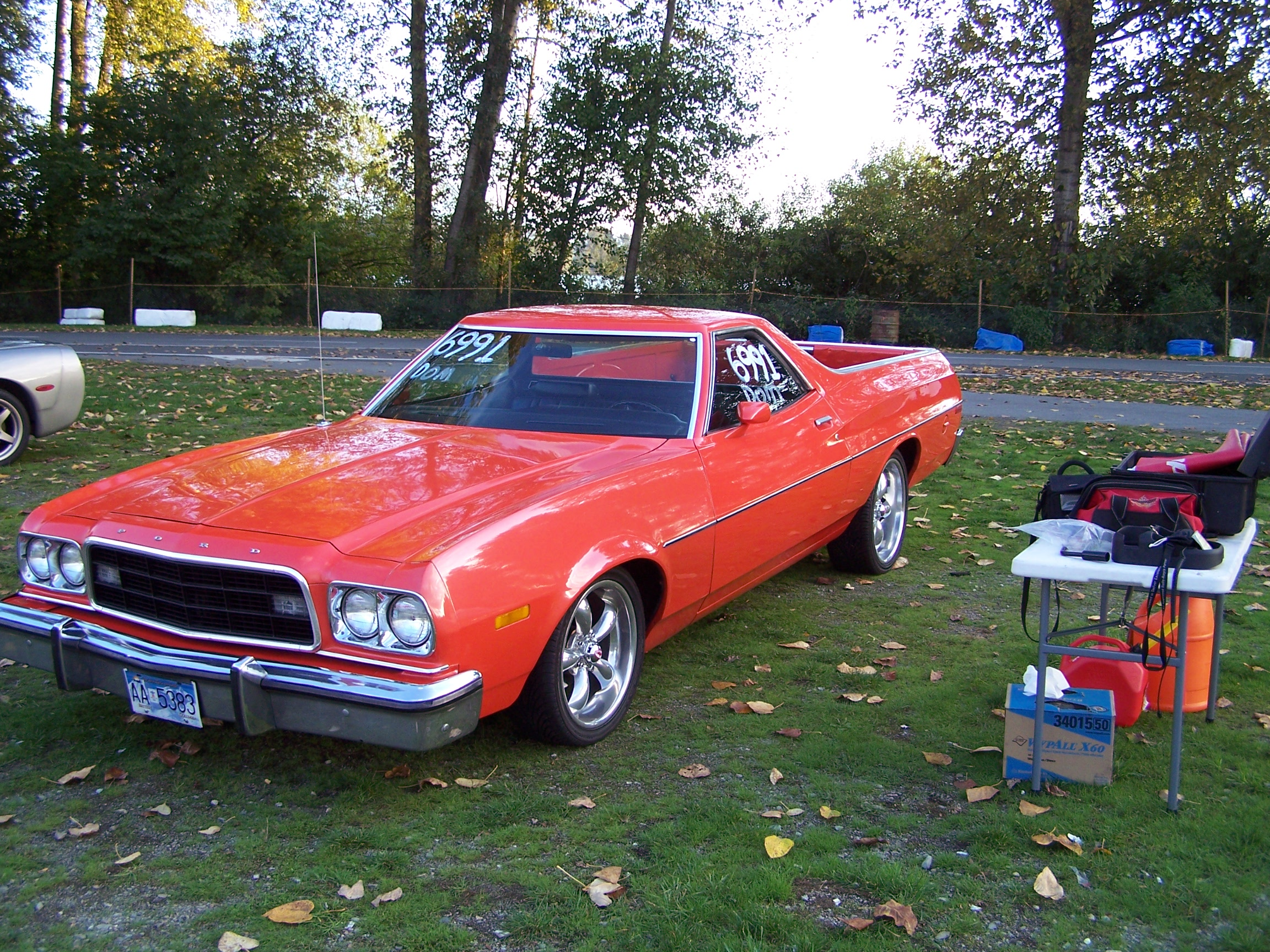 Muscle Car Wallpaper Iphone 6 1973 Ford Ranchero Full Hd Wallpaper And Background Image