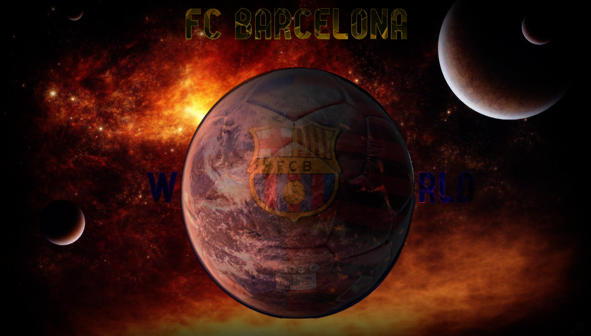 Barcelona Logo 3d Wallpaper Fc Barcelona World Wallpaper And Background Image