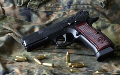 1 Cz 75 Sp01 Shadow Target Pistol HD Wallpapers | Background Images - Wallpaper Abyss