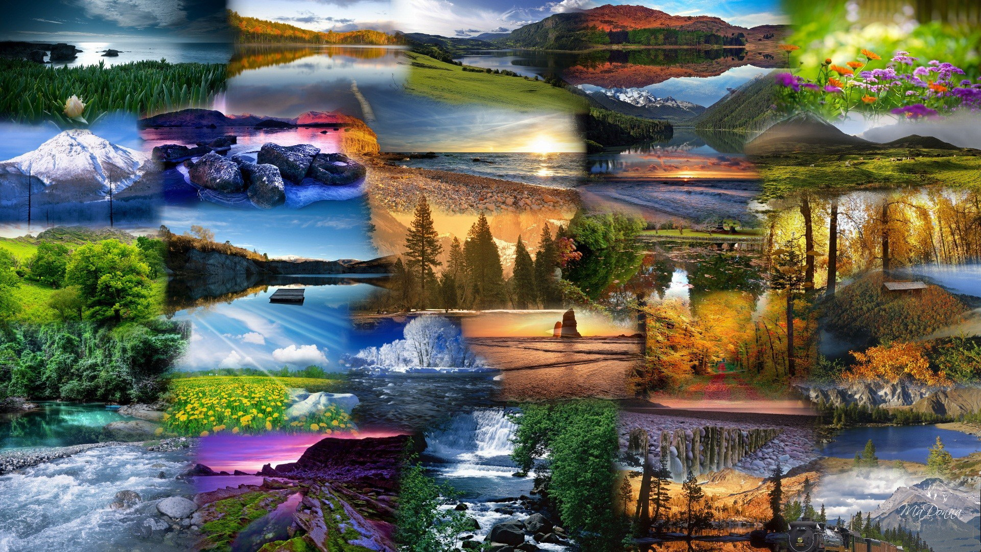 Free Animated Fall Desktop Wallpaper 4 Collage Hd Wallpapers Backgrounds Wallpaper Abyss
