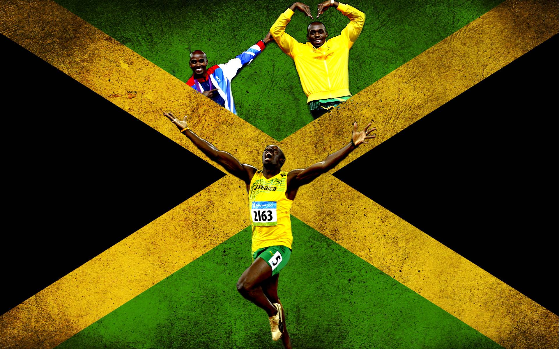 Wallpaper Mobil Sport Hd Usain Bolt Full Hd Fondo De Pantalla And Fondo De