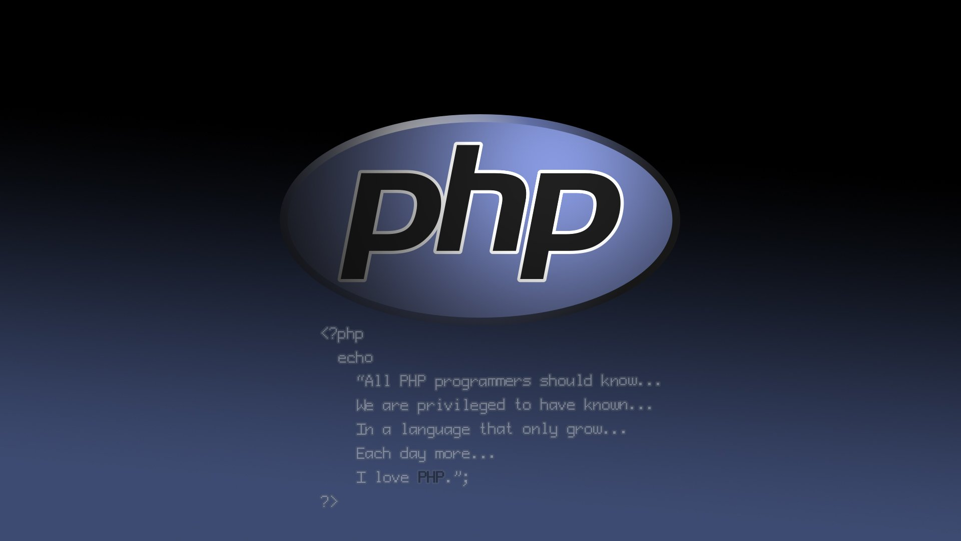 Php Wallpaper Hd Programming Hd Wallpaper Background Image 1920x1080 Id