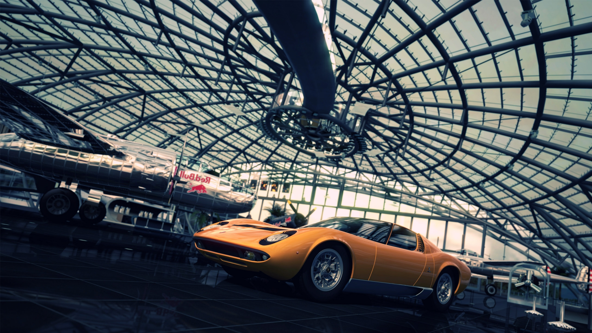 Hd Car Wallpapers 1600x1200 12 Lamborghini Miura Hd Wallpapers Background Images