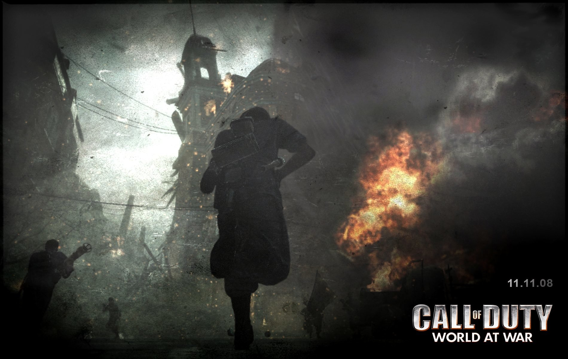 Mw3 3d Wallpapers Call Of Duty World At War Wallpaper And Background Image