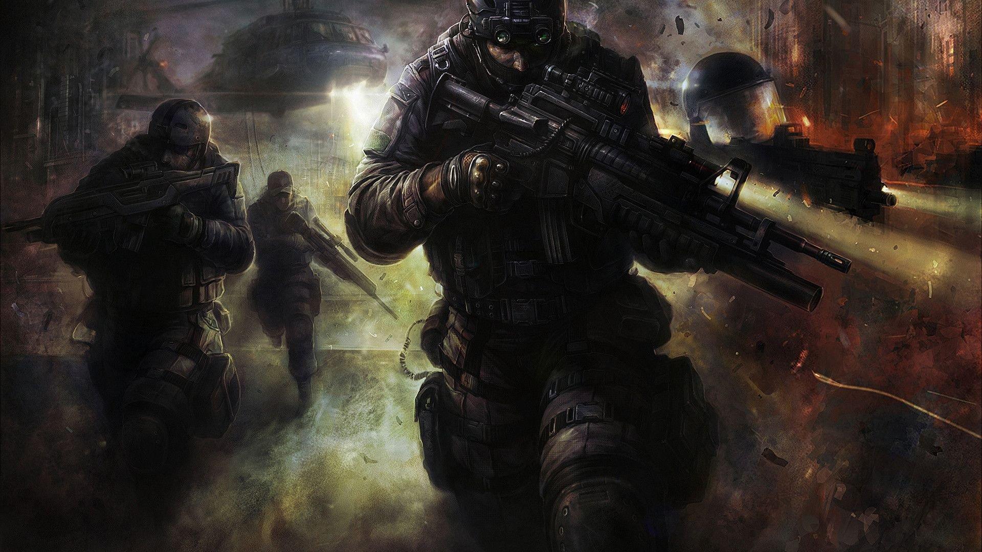 Halo Reach 3d Wallpaper Pc Swat Hd Wallpaper Background Image 1920x1080 Id