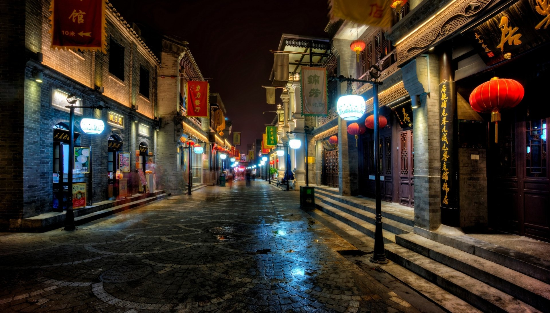 3d Wallpaper Made In China Streets Of Beijing 4k Ultra Hd Wallpaper Background