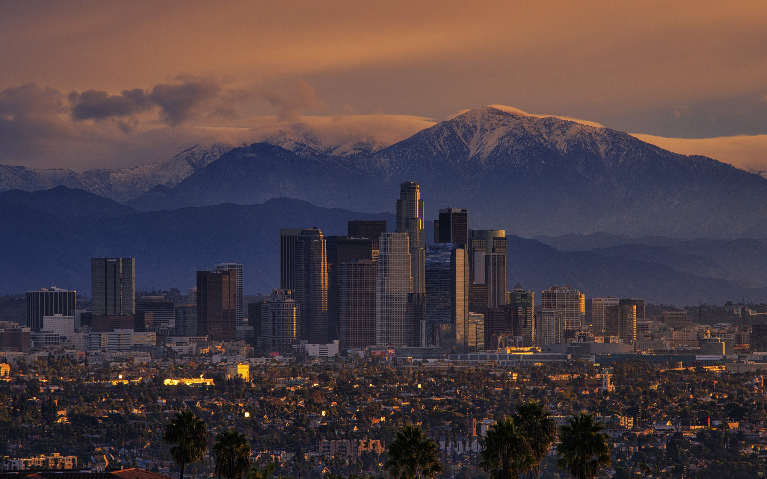Los Angeles Wallpaper Iphone 6 Plus City Full Hd Wallpaper And Background 2560x1600 Id 546179