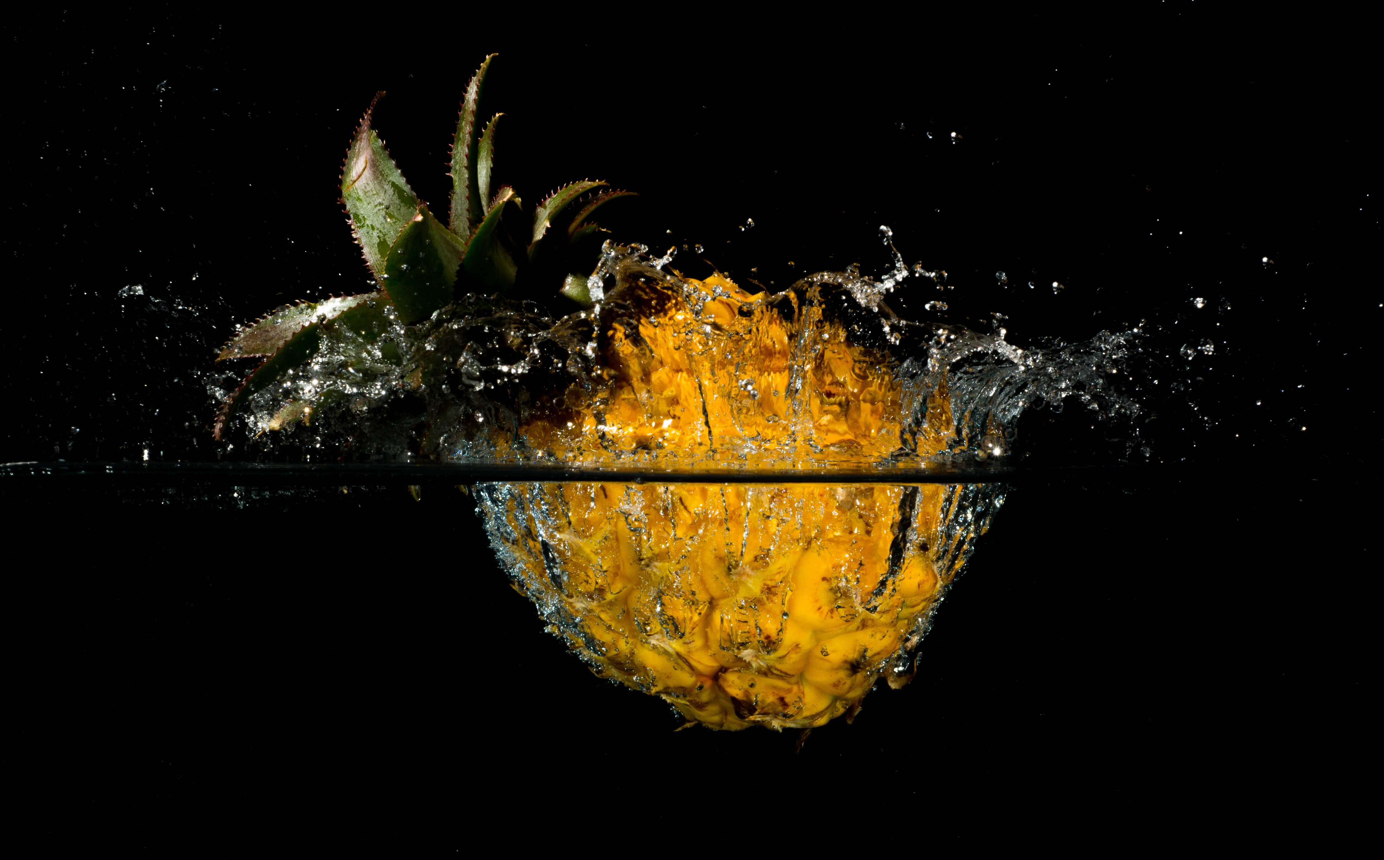 Water Drop Wallpaper For Iphone Pineapple 4k Ultra Hd Wallpaper And Background Image
