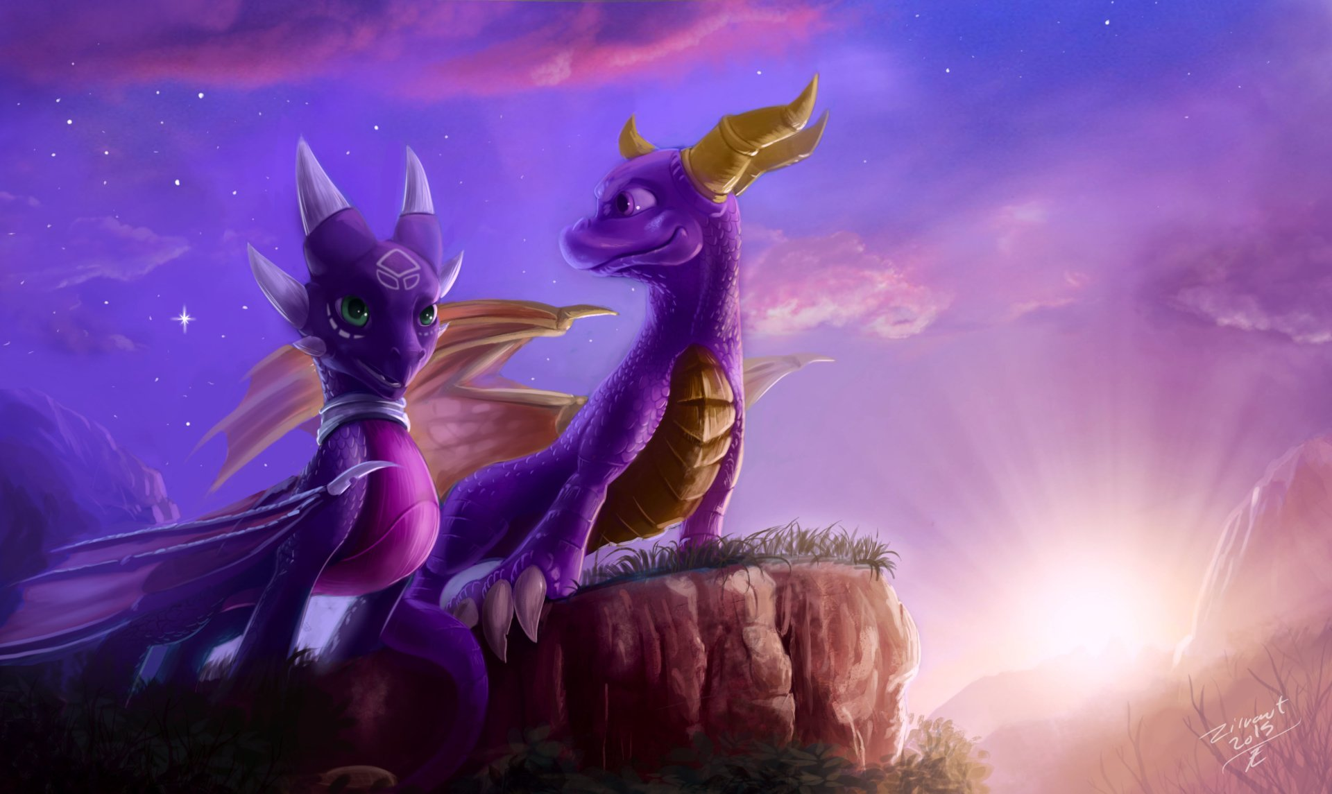 Spyro Iphone Wallpaper Spyro And Cynder 4k Ultra Hd Wallpaper And Background
