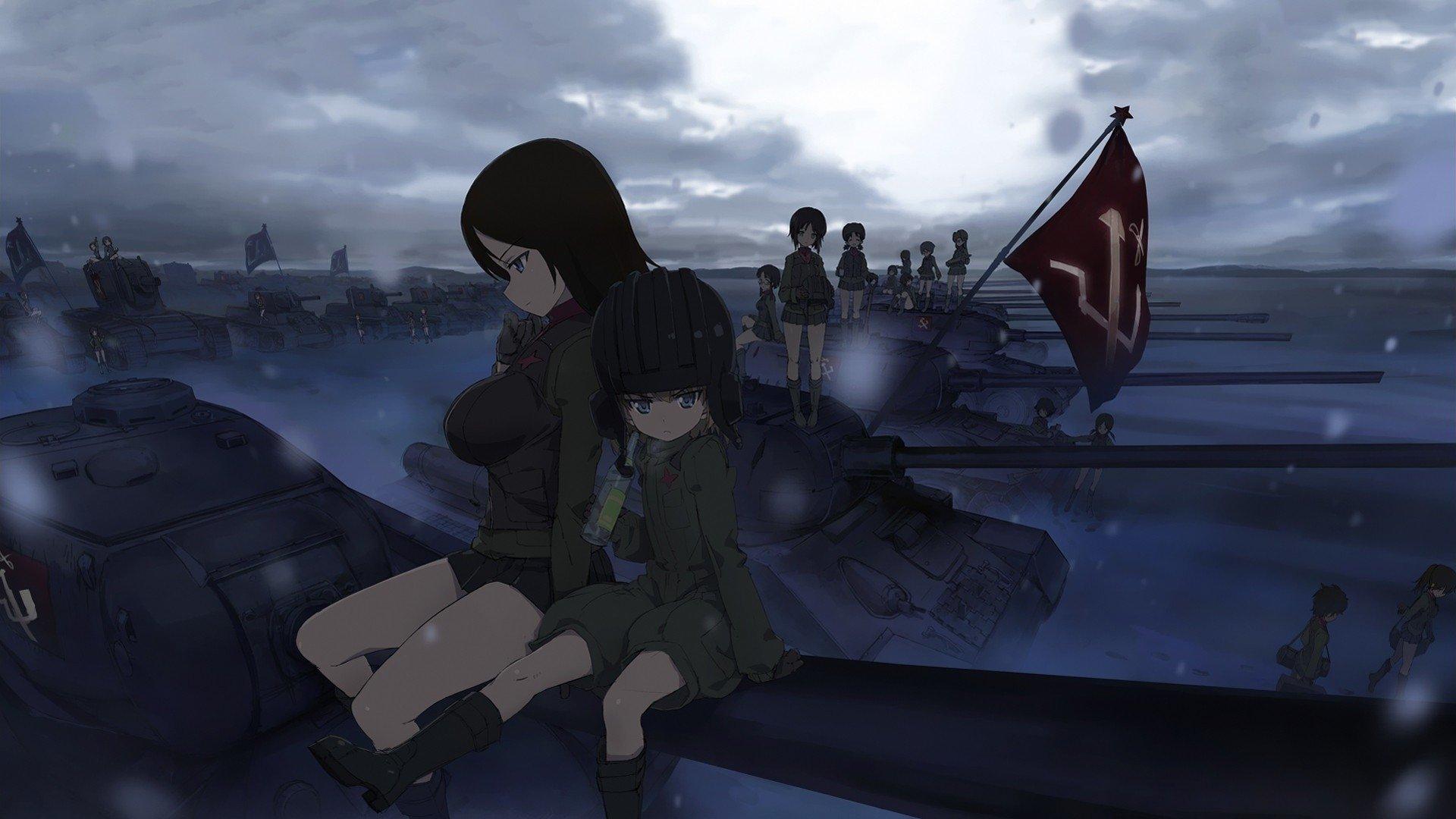 Girls Und Panzer Katyusha Wallpaper Girls Und Panzer Hd Wallpaper Background Image