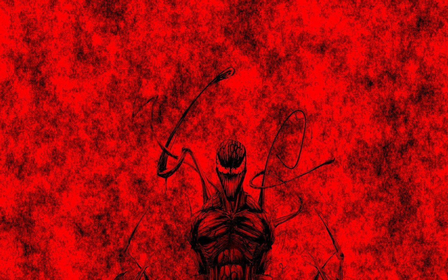 Black Spiderman Iphone Wallpaper Carnage Wallpaper And Background Image 1440x900 Id 663179