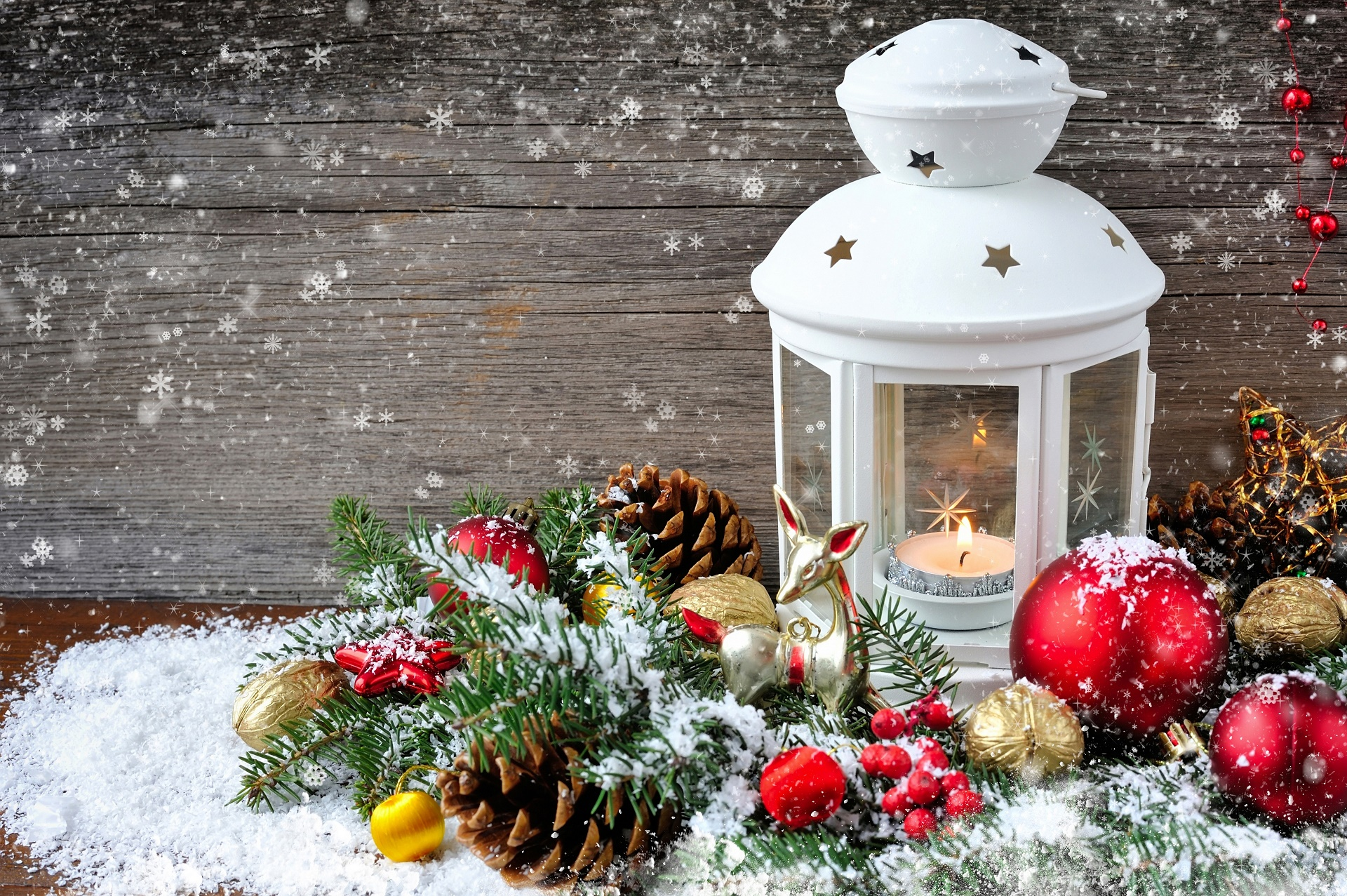 Lantaarn Lamp Christmas Hd Wallpaper | Background Image | 1920x1277 | Id
