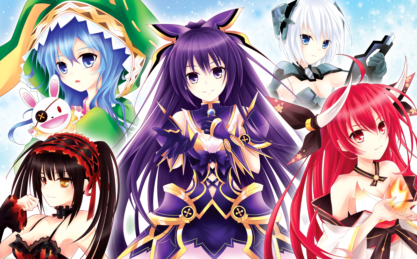 Cool Live Wallpapers For Iphone X Date A Live Season 1 Characters Wallpaper And Background