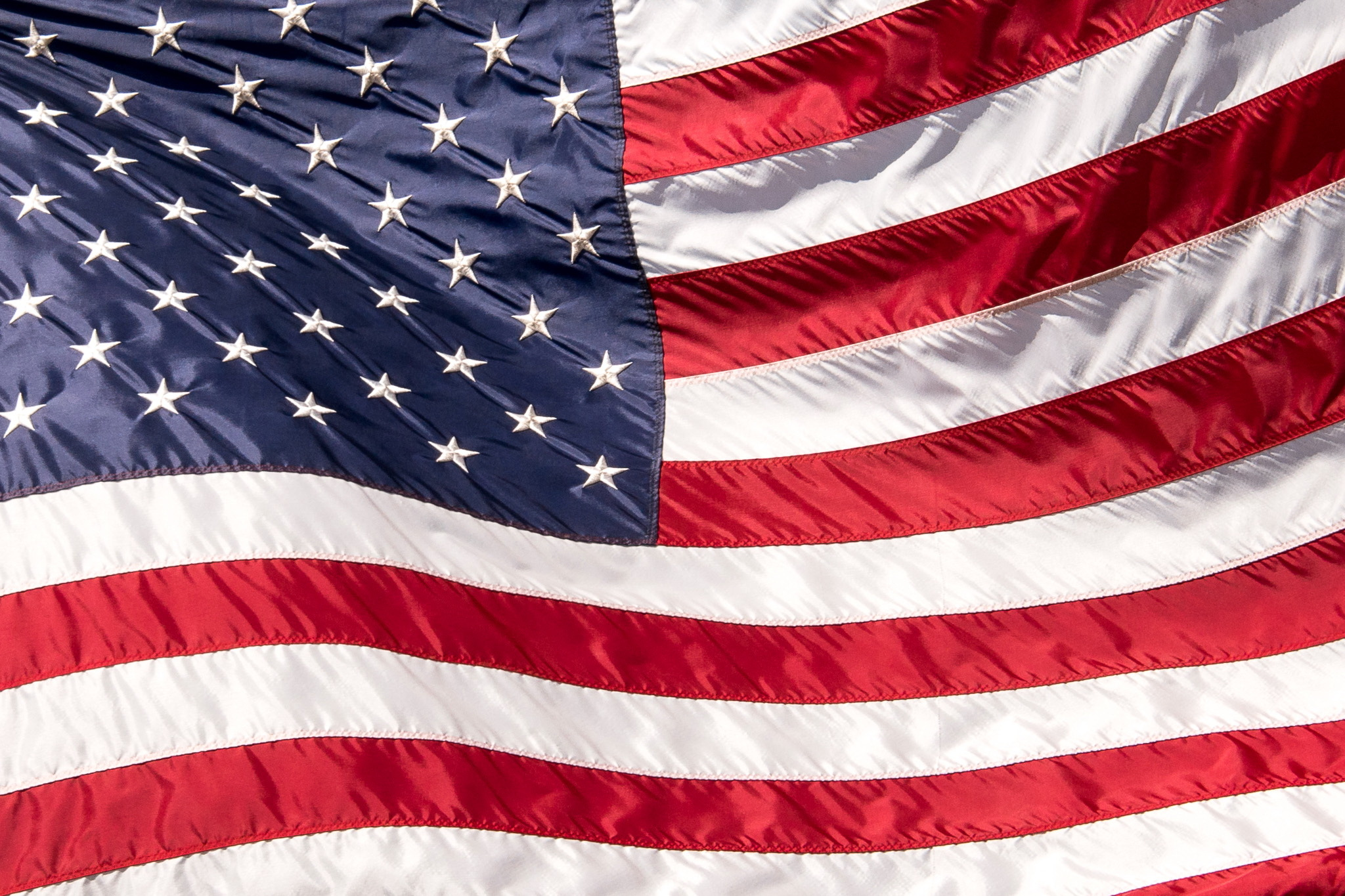 American Flag Hd Wallpaper Background Image 2048x1365