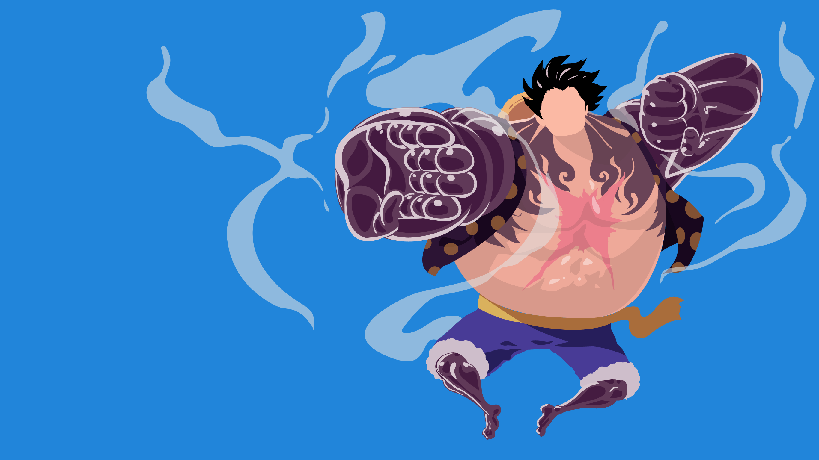 Luffy Wallpaper 3d Onepiece Lutfy Gear Fourth Hd Wallpaper Background Image
