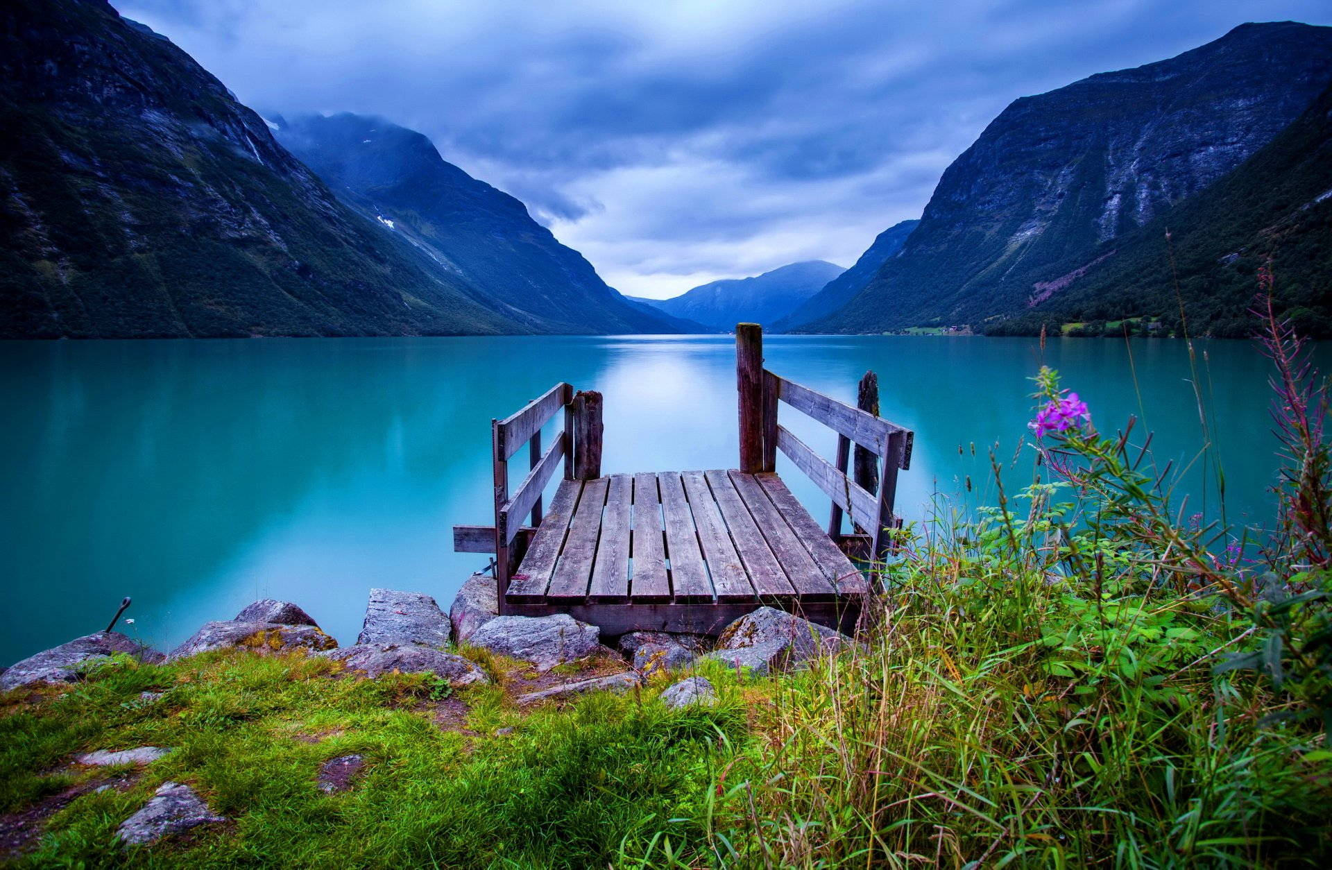 Beautiful Wallpapers For Iphone 6 Plus Dock On Turquoise Lake 4k Ultra Hd Wallpaper Background