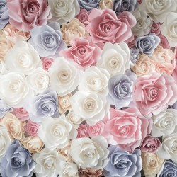 Pastel Roses 5k Retina Ultra Hd Wallpaper and Background Image
