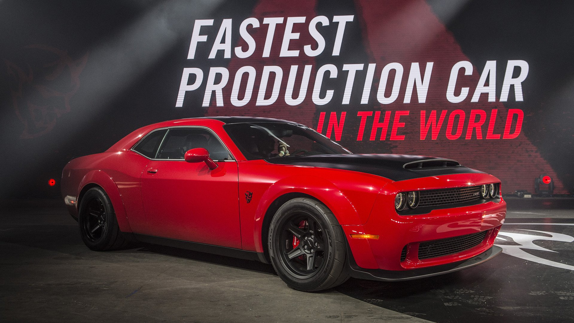 Dodge Muscle Car Wallpapers Dodge Challenger Srt Demon Wallpaper And Background Image