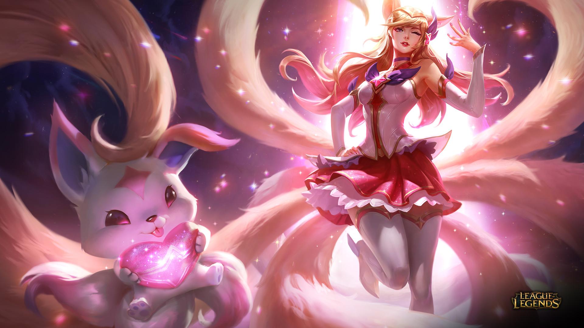Anime Girl Thighs Wallpaper Hd League Of Legends Full Hd Papel De Parede And Planos De