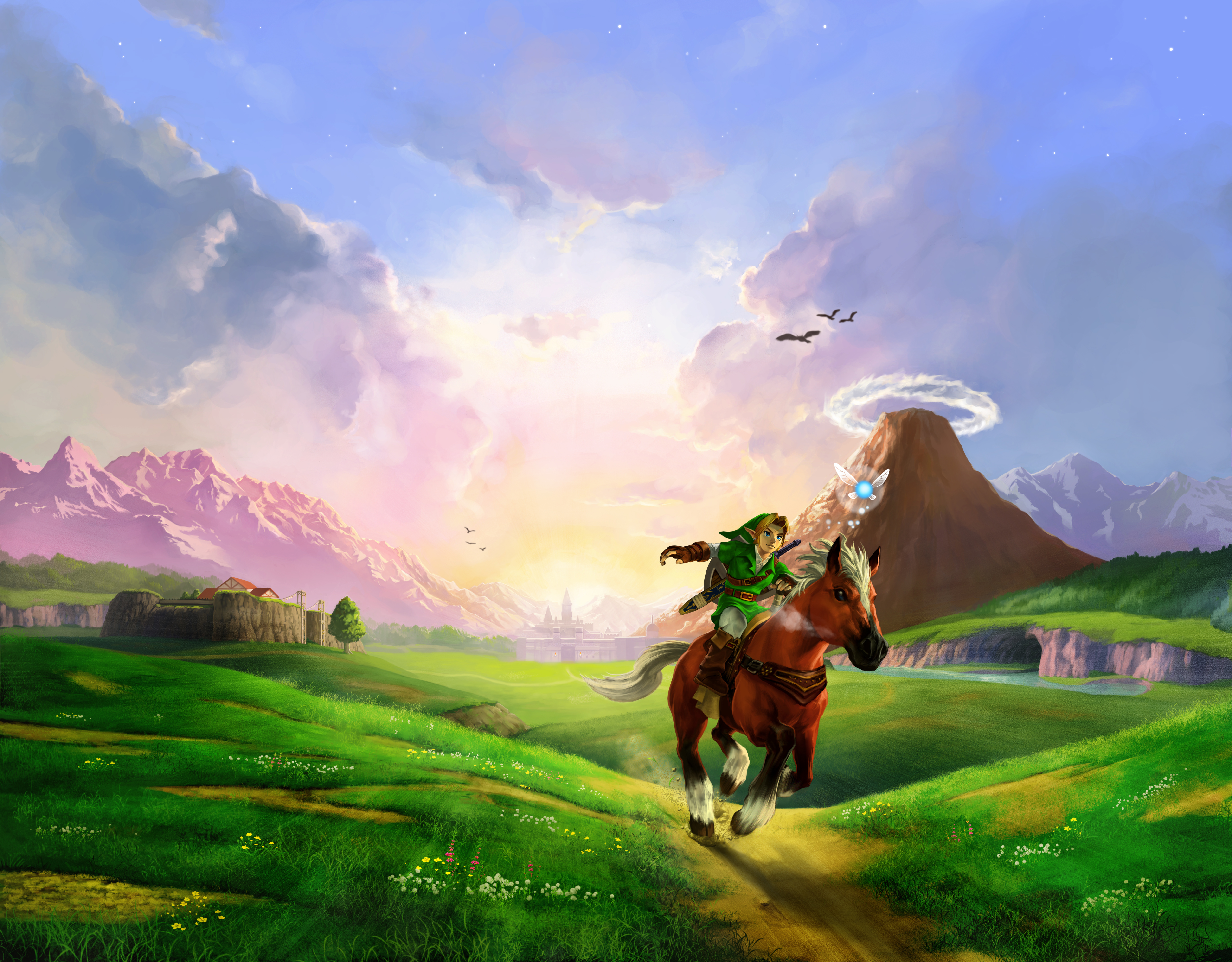 8 4k Ultra Hd The Legend Of Zelda Ocarina Of Time Wallpapers Background Images Wallpaper Abyss